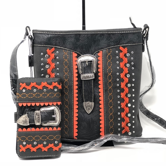 978a08946b8a American Bling Concealed Carry Crossbody+ Wallet Boutique